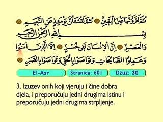 111. El Asr 1-3 -  Kur'an-i Kerim