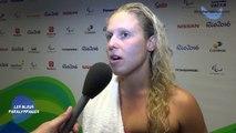 Elodie Lorandie 100m Nage Libre - Bronze - Jeux Paralympiques Rio 2016