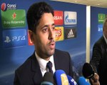 PSG / Arsenal : Nasser Al-Khelaifi apporte son soutien à Emery