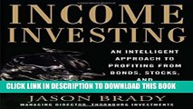[PDF] Income Investing with Bonds, Stocks and Money Markets Popular Online