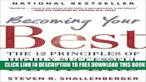 Collection Book Becoming Your Best: The 12 Principles of Highly Successful Leaders