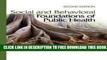 Collection Book Social and Behavioral Foundations of Public Health