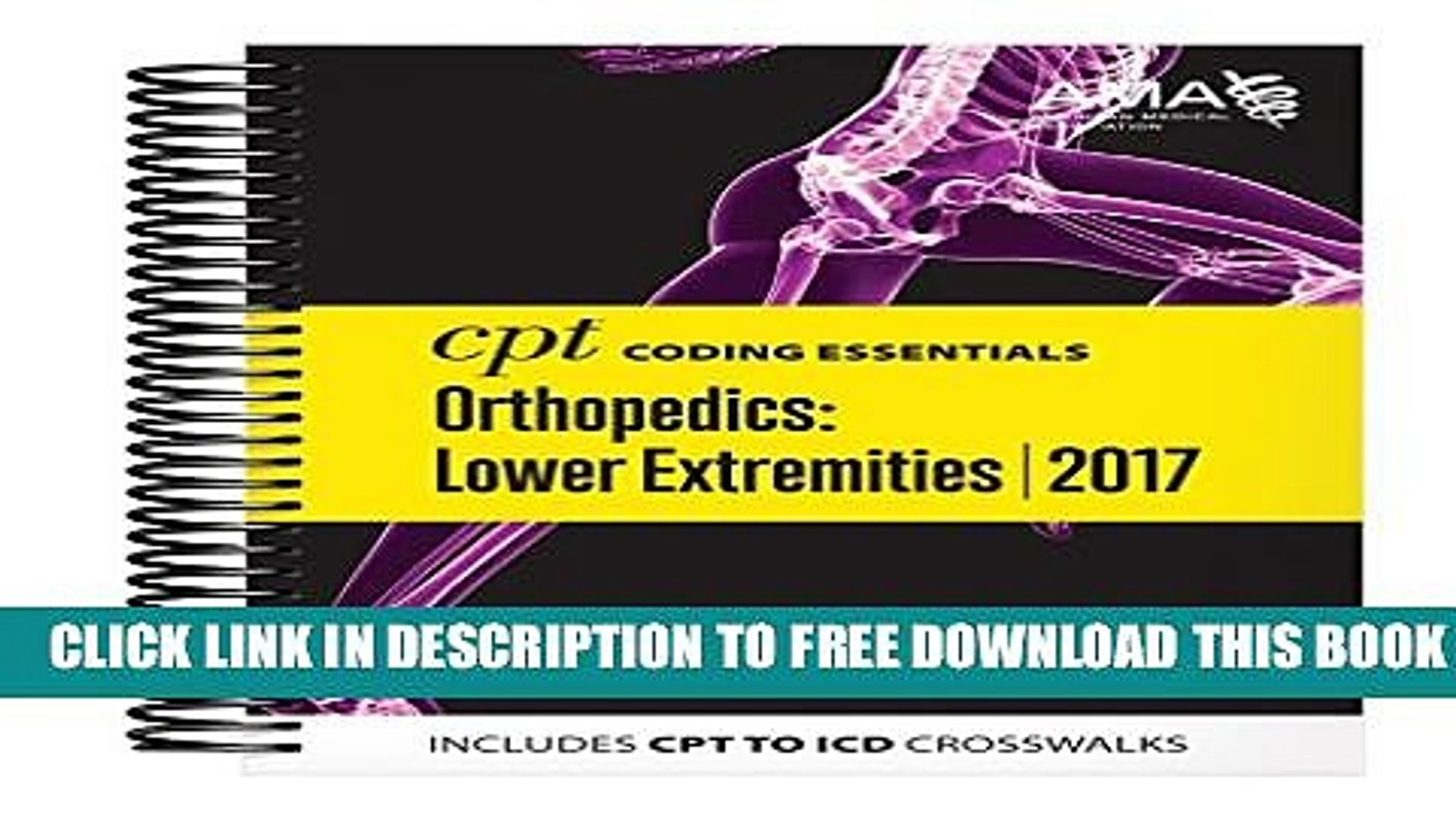 Collection Book CPT Coding Essentials For Orthopaedics Lower 2017
