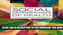 Collection Book Social Determinants of Health: A Comparative Approach