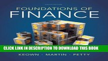 [Read PDF] Foundations of Finance (8th Edition) (Pearson Series in Finance) Ebook Free