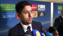 C1    Paris SG - Arsenal: réactions d'après match de Nasser Al-Khelaïfi
