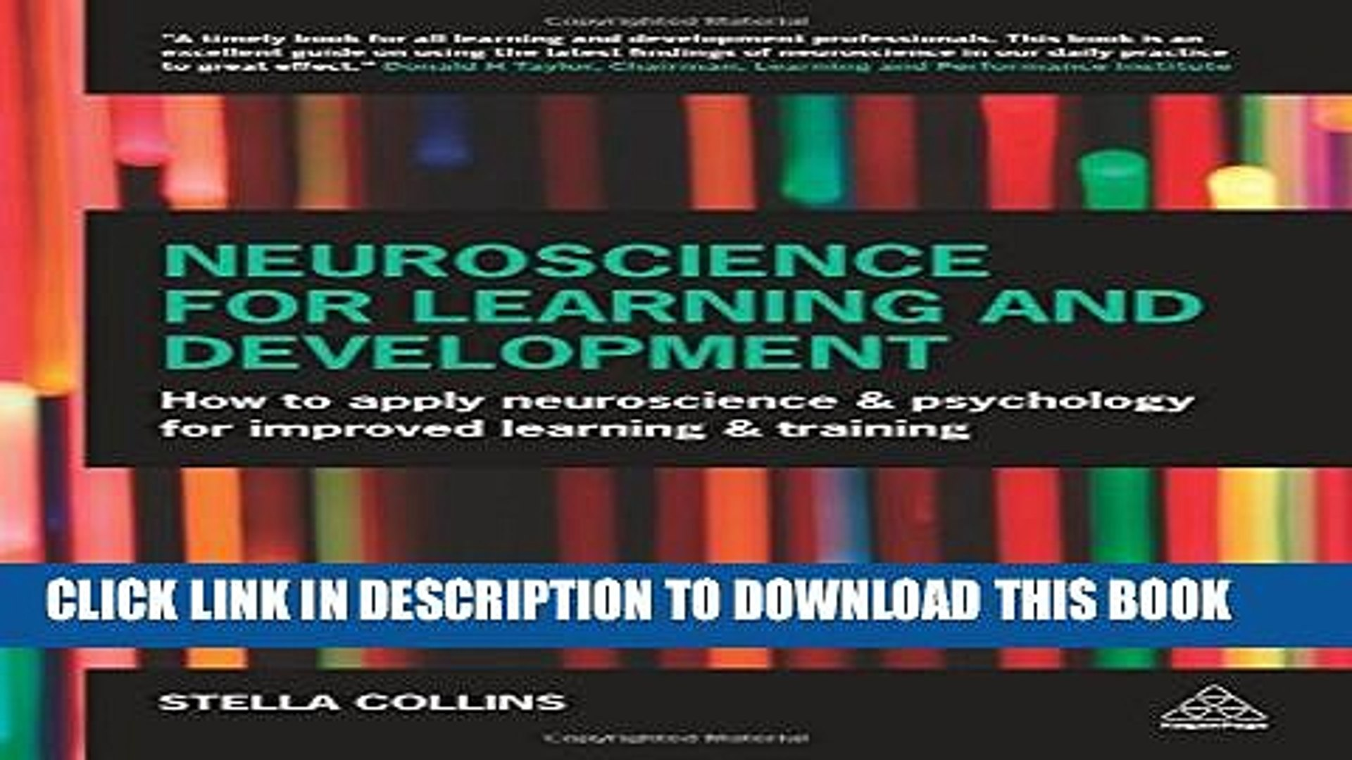 New Book Neuroscience for Learning and Development: How to Apply Neuroscience and Psychology for