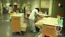 En colère, les infirmières en grève