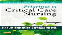 [PDF] Priorities in Critical Care Nursing, 6e (Urden, Priorities in Critical Care Nursing) Popular