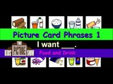 Picture Card Phrases 1: I Want - Food and Drink - The Kids' Picture Show (Fun & Educational)