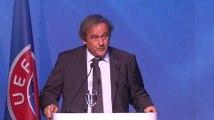"""Michel Platini a quitté l'UEFA dans """"une grande émotion"""""""