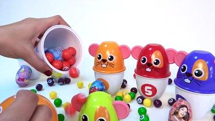Huevos Sorpresa en español Juegos Infantiles Aprende a Contar Hasta 6