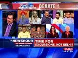 AAP Blames BJP For 'Chikungunya Deaths' in Delhi: The Newshour Debate (13th Sep 2016)