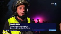 Pyrénées-Atlantiques : un transformateur d'électricité prend feu