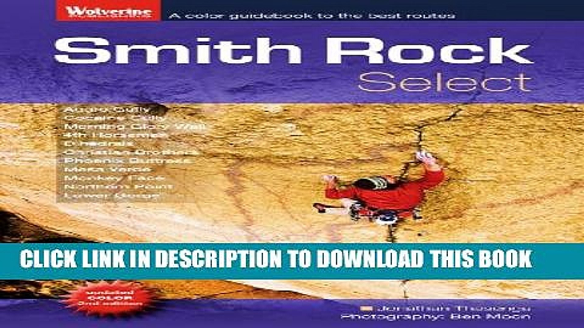 [PDF] Smith Rock Select: The Best Rock Climbs at Smith Rock, Oregon Full Online