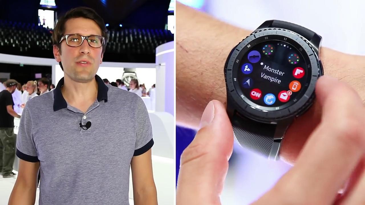 IFA 2016 - Prise en main de la Samsung Gear S3 Classic et Frontier