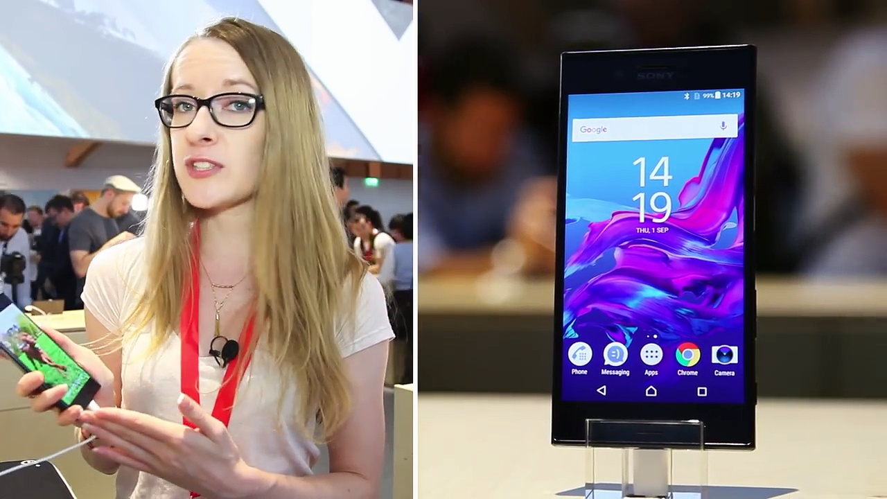IFA 2016 - Prise en main du Sony Xperia XZ - le smartphones aux trois capteurs