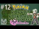 Pokémon Expert Emerald Randomizer Wedlocke #12: Hên + Hên = Xui :v