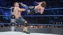 John Cena & Dean Ambrose vs. AJ Styles & The Miz - WWE SmackDown Live 9-13-16
