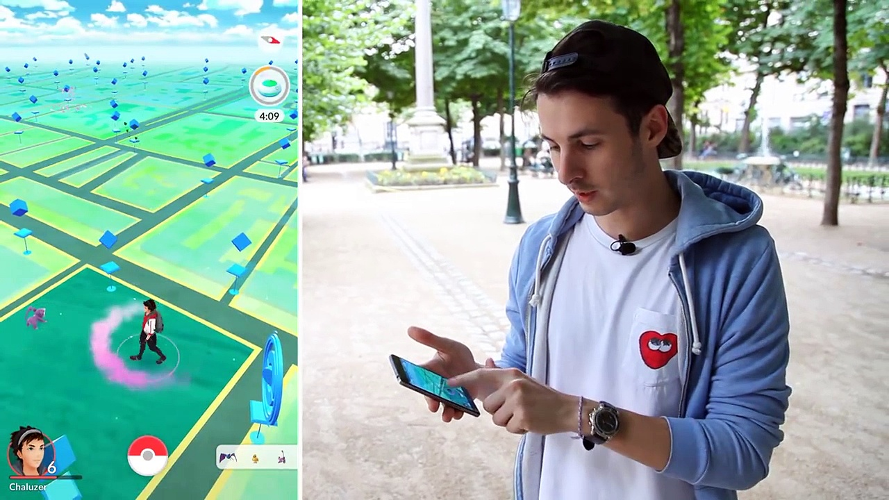 Pokemon Go - On est parti chasser Pikachu dans Paris