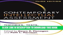 [PDF] Contemporary Intellectual Assessment, Third Edition: Theories, Tests, and Issues Popular