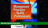 different   Management Principles For Health Professionals