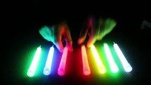 Expensive Glow Stick (Snaplight) Vs Cheap Glow Sticks