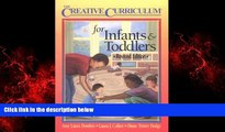 Enjoyed Read Creative Curriculum for Infants   Toddlers-Revised Edition