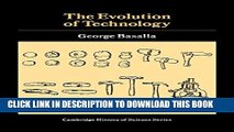 [PDF] The Evolution of Technology (Cambridge Studies in the History of Science) Popular Colection