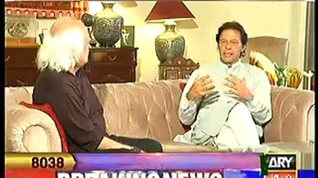 Imran Khan tells the secret behind his success in cricket even without having an extraordinary talent.