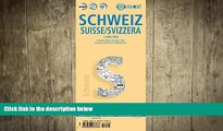 READ book  Laminated Switzerland Map by Borch (English, Spanish, French, Italian and German
