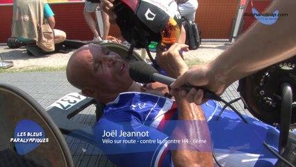 Joël Jeannot - 6ème contre la montre vélo sur route H4 - Jeux Paralympiques Rio 2016