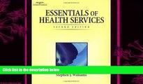 different   Essentials of Health Services