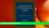 Big Deals  Causality of Psychological Injury: Presenting Evidence in Court  Best Seller Books Best
