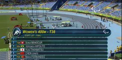 SPORTS WORLD,Athletics  Women's 400m - T38 Final  Rio 2016 Paralympic Games