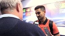 Manchester City 4-0 Borussia Monchengladbach - Ilkay Gundogan Post Match Interview