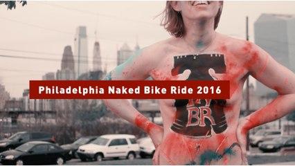 Watch: The 8th annual Philadelphia Naked Bike Ride