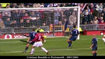 Cristiano Ronaldo ● All Free Kick Goals For Manchester United ( ENG Commentary )