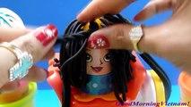 Play-Doh Cắt Tóc Tạo Kiểu Tóc Cắt Tóc Cho Thầy Giáo Play-doh hair Toys Kids