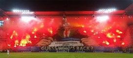 L'impressionnant tifo du Legia Varsovie en LdC !