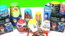 Disney Zootopia Toys Surprise Nesting Dolls! Kids Toys Surprise Egg Fun video, Disney Toys Video