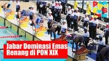 Jawa Barat Dominasi Mendali Emas Renang di PON 2016