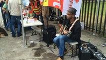 A Saint-Brieuc, manifestation en musique contre la loi travail