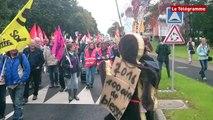 Lannion. 140 manifestants contre la loi Travail