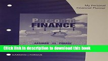 [PDF] My Personal Financial Planner with Worksheets for Garman/Forgue s Personal Finance, 12th