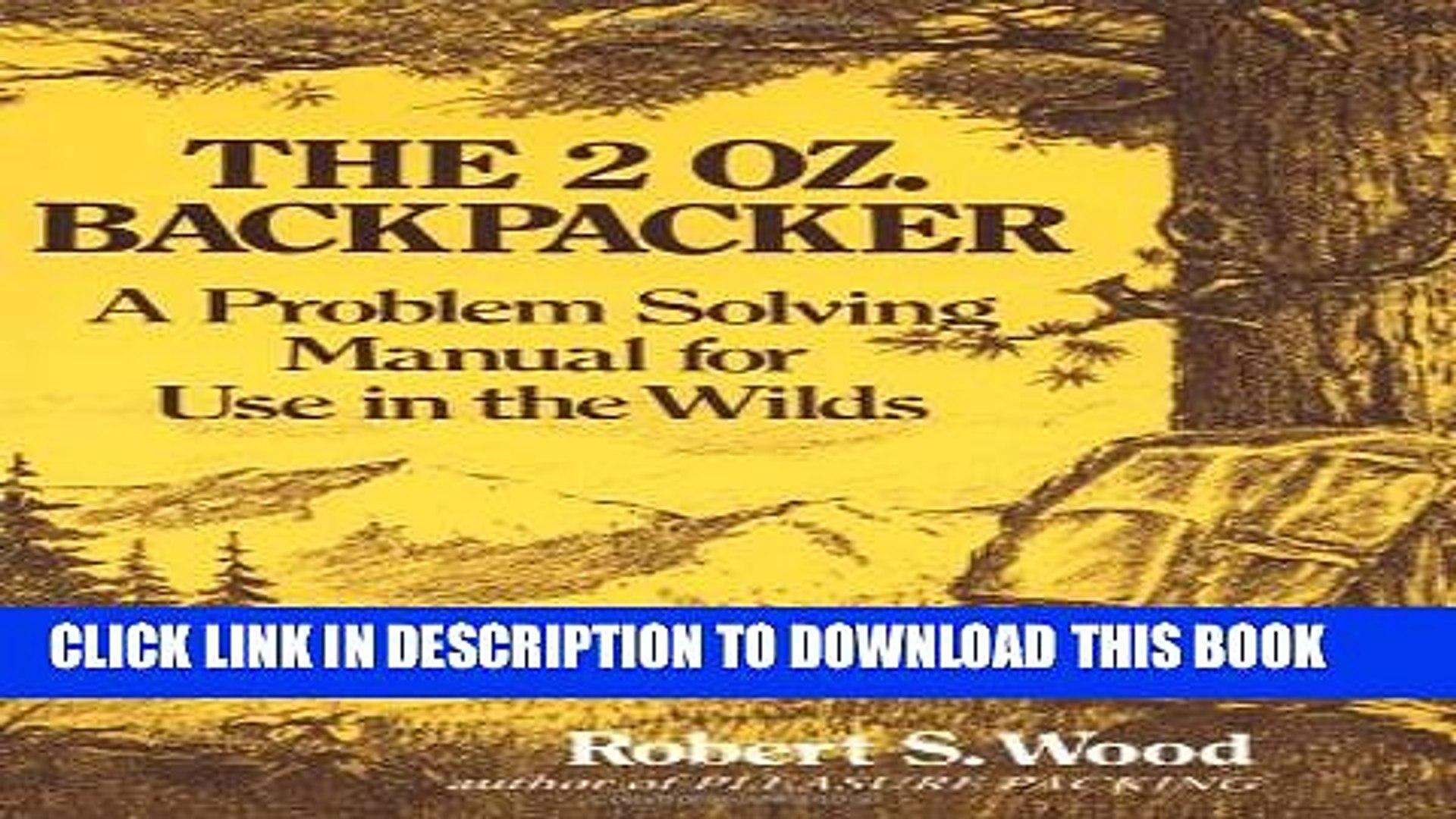 The 2 Oz. Backpacker