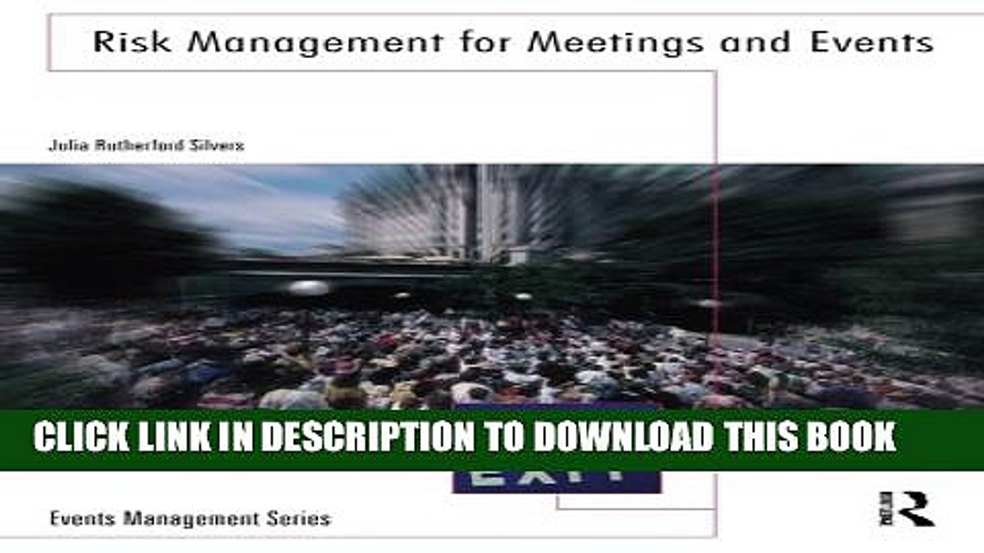 [PDF] Risk Management for Meetings and Events (Events Management) Full Colection