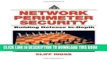 [PDF] Network Perimeter Security: Building Defense In-Depth Popular Online
