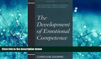 Online eBook The Development of Emotional Competence (Guilford Series on Social and Emotional