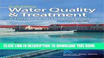 [PDF] Water Quality   Treatment: A Handbook on Drinking Water Popular Collection